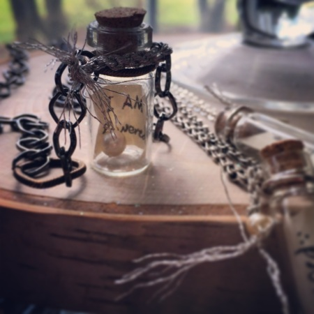 The Message in a Bottle Necklaces