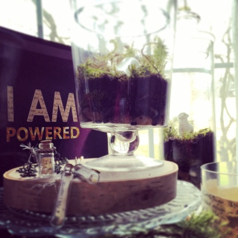 I AM Powered MERCHANDISE | Abundant Life Terrariums :: Salt & Light Candles :: The Message in a Bottle Necklaces